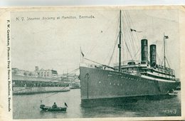 BERMUDES(BATEAU PAQUEBOT) - Bermudes