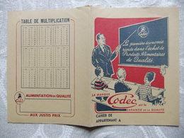 Année 60 Protège Cahier    CODEC - Protège-cahiers
