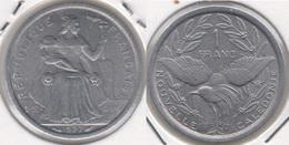 Nuova Caledonia 1 Franc 1977 KM#10 - Used - Nuova Caledonia