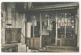 Angleterre Derbyshire Interior Duffield Church - Derbyshire