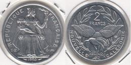Nuova Caledonia 2 Francs 1990 KM#14 - Used - Nouvelle-Calédonie