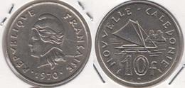 Nuova Caledonia 10 Francs 1970 KM#5 - Used - Nouvelle-Calédonie