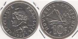 Nuova Caledonia 10 Francs 1983 KM#11 - Used - Nuova Caledonia