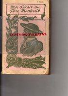 87-19-23- MOTS D' ECRIT DU PERE MENFOUTE- EDITEUR GUILLEMOT DE LAMOTHE LIMOGES-1936 LIMOUSIN - Limousin