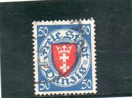 DANTZIG 1924-33 O - Danzig