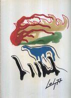 """PROMO GRAFICA """"DINOSAURI"""" 1997 TECNICA MISTA SU CARTA DISEGNO 24 X 33 FIRMA - Disegni"""