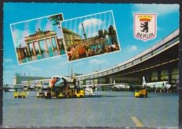 Berlin- Tempelhof, Zentralflughafen Ungelaufen ( AK 2 )  Günstige Versandkosten - Tempelhof