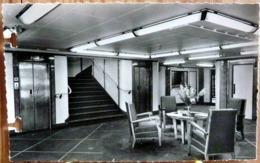 PAQUEBOT ANTILLES  HALL D'EMBARQUEMENT EMBARKATION HALL COMPAGNIE GENERALE TRANSATLANTIQUE - Passagiersschepen