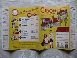 Année 60 Protège Cahier  PRODUITS D'ALIMENTATION MARQUE NATIONALE  CIBON - Protège-cahiers