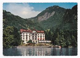 Suisse Lucerne Hotel Vitznauerhof Vitznau Am Vierwaldstättersee En 1972 Bateau à Quai - LU Lucerne