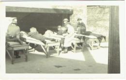 Carte Photo. Militaria. Tir à La Caserne D'Héverlé. - War, Military