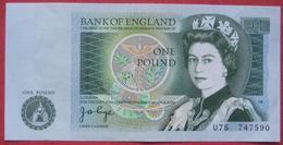 One / 1 Pound (WPM 377a) - 1952-… : Elizabeth II