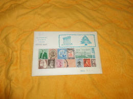 ENVELOPPE DE TIMBRES NON OUVERTE 50 DIFFERENTS STAMPS FROM MIDDLE EAST. - Stamps
