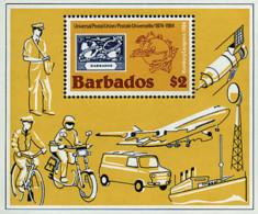 Ref. 45757 * NEW *  - BARBADOS . 1984. 19th HAMBURG UPU CONGRESS. 19 CONGRESO DE LA UPU EN HAMBURGO - Barbados (1966-...)