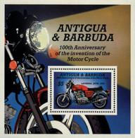 Ref. 47217 * NEW *  - BARBUDA . 1985. CENTENARY OF MOTORBYKE. CENTENARIO DE LA MOTOCICLETA - Antigua Y Barbuda (1981-...)