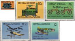 Ref. 57368 * NEW *  - BARBUDA . 1987. MEANS OF TRANSPORTATION. MEDIOS DE TRANSPORTE - Antigua Y Barbuda (1981-...)
