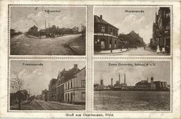 OBERHAUSEN, Rhld., Schlachthof, Wunder- Und Friedrichstrasse, Zeche Concordia - Oberhausen