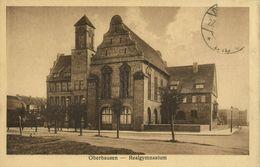 OBERHAUSEN, Rhld., Realgymnasium (1920s) AK - Oberhausen