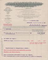 GENEVE SOCIETE DE TRANSPORTS INTERNATIONAUX ANC. CHARLES FISCHER - Switzerland