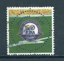 2004 Brazil 100 Years FIFA,voetbal,soccer,football Used/gebruikt/oblitere - Brazilië