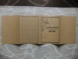 """Année 60 Protège Cahier  """"Fais Ce Quedois Advienne Que Pourra""""imprimerie Loupiac,Lézignan  (Aude) - Protège-cahiers"""