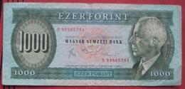 1000 / Ezer Forint 1983 (WPM 173b) - Hungary