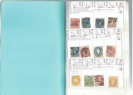 QUATRE CARNETS D'AUTRICHE-  36 Scans - - Cote Yvert 1 603 €-- - - Timbres