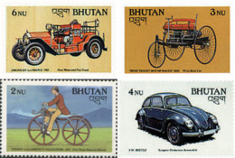 Ref. 290678 * NEW *  - BHUTAN . 1988. MEANS OF TRANSPORTATION. MEDIOS DE TRANSPORTE - Bhutan