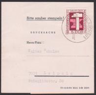"""Streifbandsendung Drucksache Glauchau  Mit 5 Pf """"Jahr Der Menschenrechte"""" DDR 1368 - Covers"""