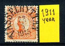 SVEZIA - SVERIGE - Year 1911 - Usato - Used - Utilisè - Gebraucht.. - Usati