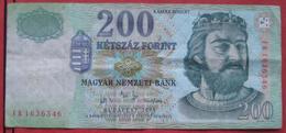 200 / Ketszaz Forint 2004 (WPM 187d) - Hongrie