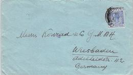 CYPRUS - LETTER 1931 -> WIESBADEN/GERMANY - Chypre (...-1960)
