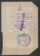 PAKISTAN AND LEBONON USED VISA STAMP  ON PASSPORT PAGE - Libanon