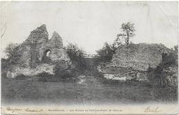 Neufmarché - Les Ruines Du Chateau-fort - Dos Simple - France