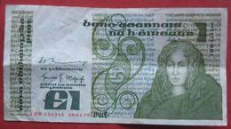 1 / One Punt / Pound 1979 (WPM 70b) - Ireland