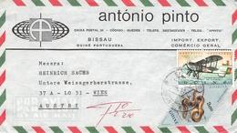 PORT. GUINEA - AIR MAIL LETTER 1973 -> VIENNA/AUSTRIA - Portugiesisch-Guinea