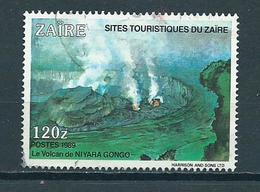 1990 Zaire Niyara Vulcan Used/gebruikt/oblitere - Zaïre