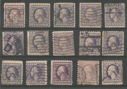 Washington 3c Violet - Verenigde Staten