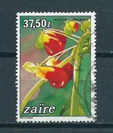 1984 Zaire Flowers,blümen,fleurs 37,5z Used/gebruikt/oblitere - Zaïre