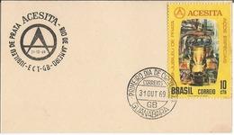 LSJP BRASIL Jubileo Plata Acesita ACERO ESPECIAL 1969 - Brazil