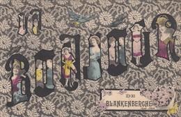 BLANKENBERGE / UN BONJOUR DE BLANKENBERGHE  1907 - Blankenberge