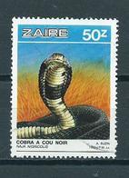 1987 Zaire Reptiles 50z Used/gebruikt/oblitere - Zaïre