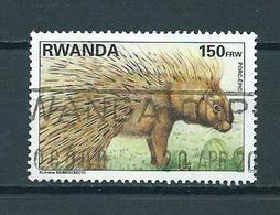 1995 Rwanda Animals,dieren,tiere Used/gebruikt/oblitere - Rwanda