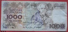 1000 / Mil Escudos 1993 (WPM 181j) - Portugal
