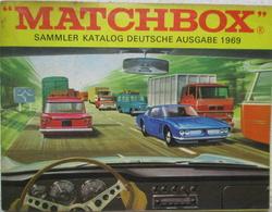 Vintage Sammler Katalog Matchbox Deutsche Ausgabe 1969 Sammlerstück - Littérature & DVD