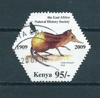 2009 Kenia Natural History Society Used/gebruikt/oblitere - Kenia (1963-...)