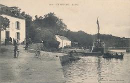 Le Pouldu (56 - Morbihan) Le Bac - Bateau - Liaison Du Pouldu à Saint Maurice - Coll. Laurent N° 1806 (texte Lorient) - France