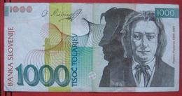 1000 / Tisoc Tolarjev 2005 (WPM 32) - Slovénie