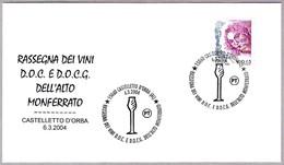 Exp. Vinos DOC Y DOCG Del ALTO MONFERRATO. Castelletto D'Orba, Alessandria, 2004 - Vinos Y Alcoholes