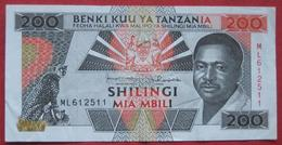 200 / Mia Mbili Shilingi ND (WPM 25b) - Tanzanie